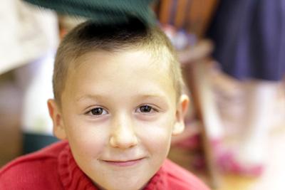 Happy Child at Divinum Auxilium Academy