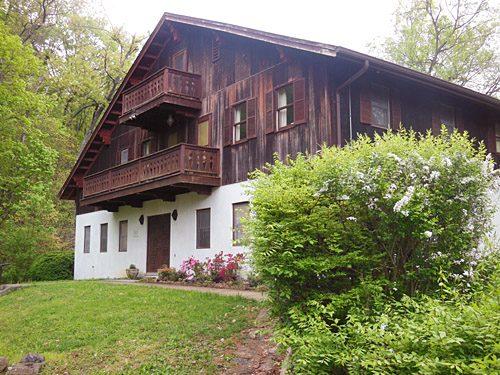 Traditional Bavarian Style Schoolhouse at Divinum Auxilium Academy