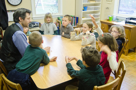 Classroom at Divinum Auxilium Academy