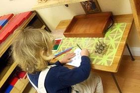Montessori Classroom at Divinum Auxilium Academy